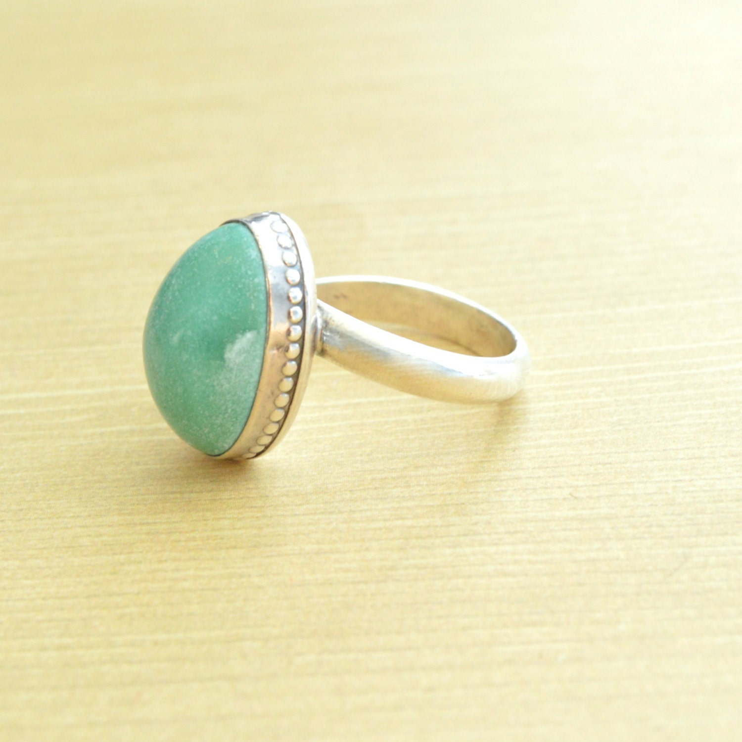 simple turquoise ring turquoise jewelry sterling silver