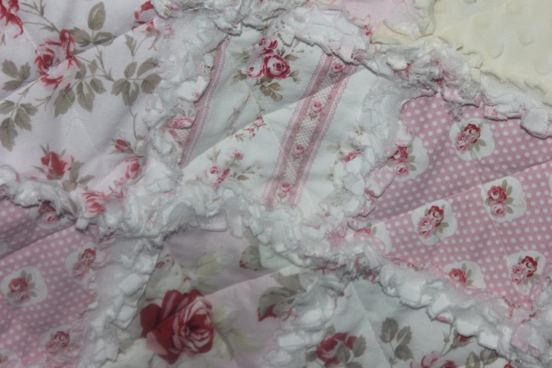 Shabby Chic Baby Bedding Tanya Whelan Petal by SimplySweetNursery