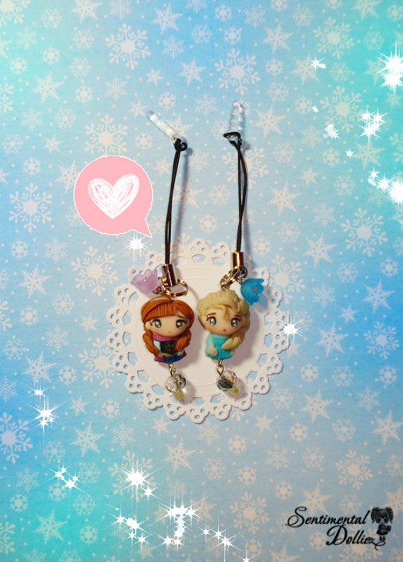Disney Frozen Jewelry, Disney Elsa, Frozen Jewellery, Disney Princesses, Disney Frozen Ana , Kawaii Dust Plugs