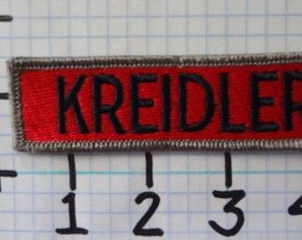 """Vintage """"Kreidler"""" Motorcycle Patch (004)"""