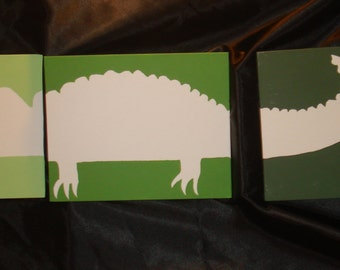 Alligator Silhouette Etsy