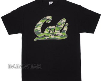 California Camouflage CALI T-Shirt Black Camo