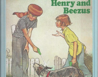Autographed copy of Henry and Beezus by Beverly Cleary. Paperback edition signed by author
