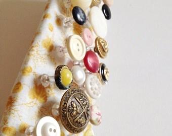 Vintage Button Thumbtacks/Push pins