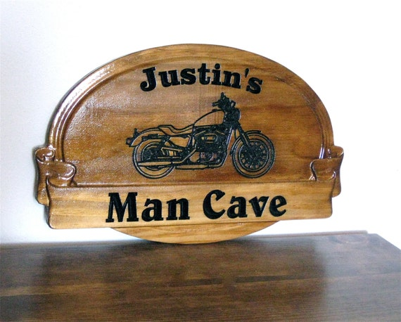 Harley Davidson Man Cave Signs : Personalized harley davidson guy gift man by