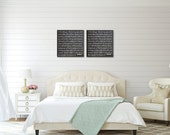 Wedding Vows on Canvas Wall Art