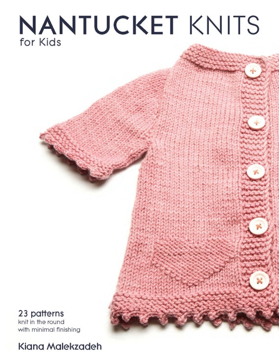 Knitting Book. 23 patterns in the round with minor seaming and