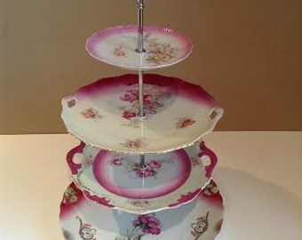 Four Tier China Stand, Tea Stand, Jewelry Stand: No. 246.