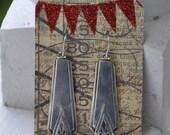1929 Deauville Spoon Earrings