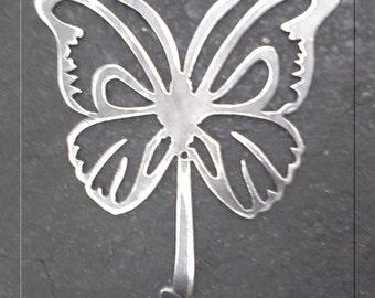 Butterfly Hook Metal Art
