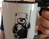 Star Wars Ewoks, Return of the Jedi inspired mug, Great Valentine or Anniversary Gift! Affection geek Culture Coffee Tea