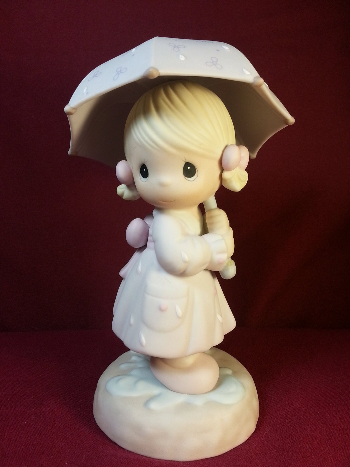 April Precious Moments Figurine Precious Moments Figurines