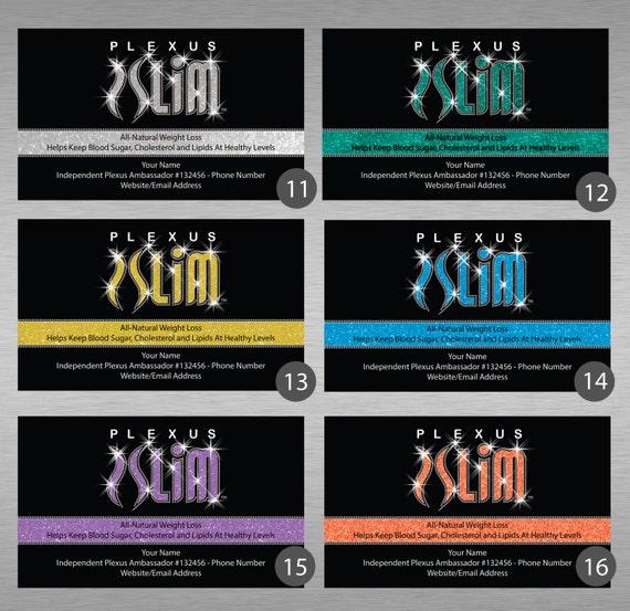 Plexus Slim Business Cards
