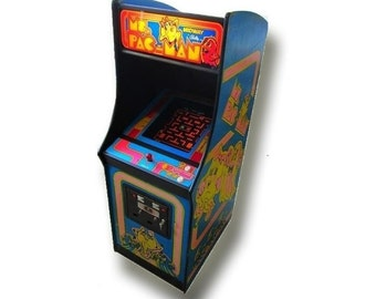 Ms. Pac-Man Video Arcade Game: Produced in 1981, Refurbished with authentic arcade components!