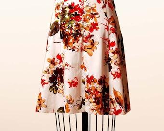 Sweetheart floral halter neck dress, back cutout, summer dress, spring, floral dress, cutout dress, button detailing, de almeida designs