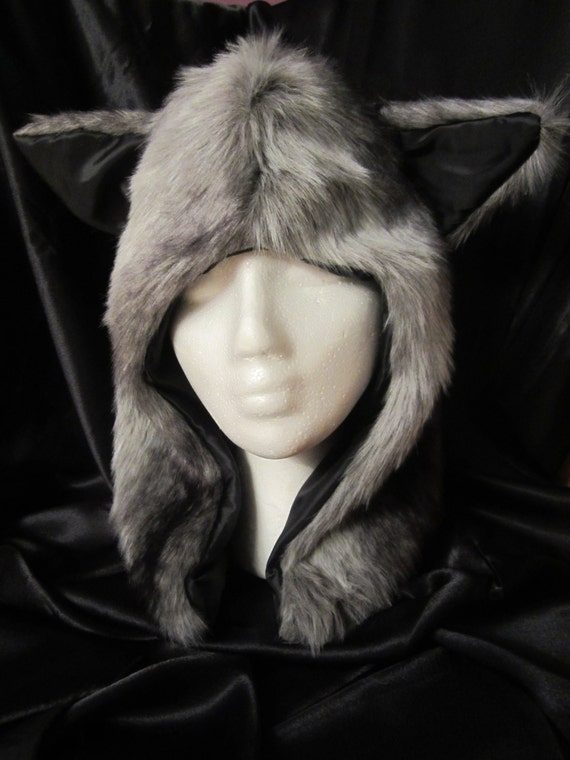 Funky wolf winter hat
