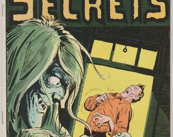 House of Secrets; Vol 1, 131 Bronze Age Comic Book.  VF. May 1975.  DC Comics
