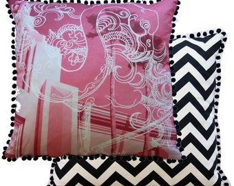 Pink Miami Cushion Cover
