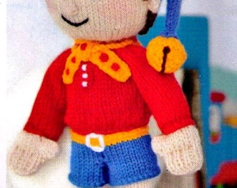 Knitting Pattern Toy Story Characters : Noddy Etsy