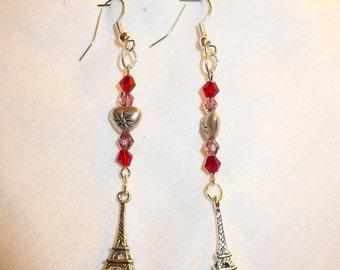 Hearts in Paris Earrings