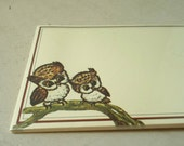 15 Owl Postcards Lois Mae Thayer Illustration New in Package FREE SHIPPING