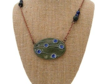 Handmade Jewelry Design Asymmetrical Necklace Earthy Layered Necklace