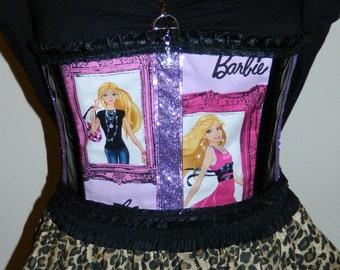 One Of A Kind Barbie Corset Belt OOAK