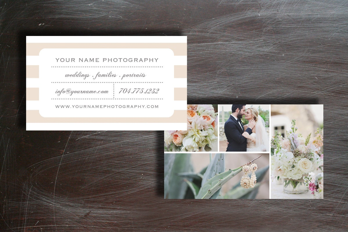 Business Card Template Business Cards Wedding Photography