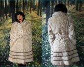 RESERVED -Vintage 1960s - Margot Tenenbaum - Faux Fur - Dress Coat - by Roos Atkins - Union Made in USA