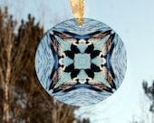 Loon Glass Suncatcher Boho Chic Mandala New Age Sacred Geometry Hippie Kaleidoscope Unique Gift Mod Gypsy Nature Love Gift Serene Serenade