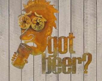 Got Beer Metal Wall Mount Sign