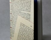 Hardcover Recycled Text Journal - Medium