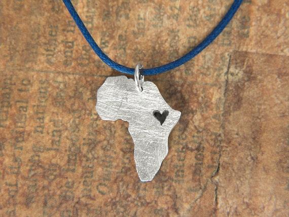 Adoption Mother Necklace Africa Necklace Adoption Jewelry Adoption Gifts Heart Ethiopia Pendant Adoption Necklace