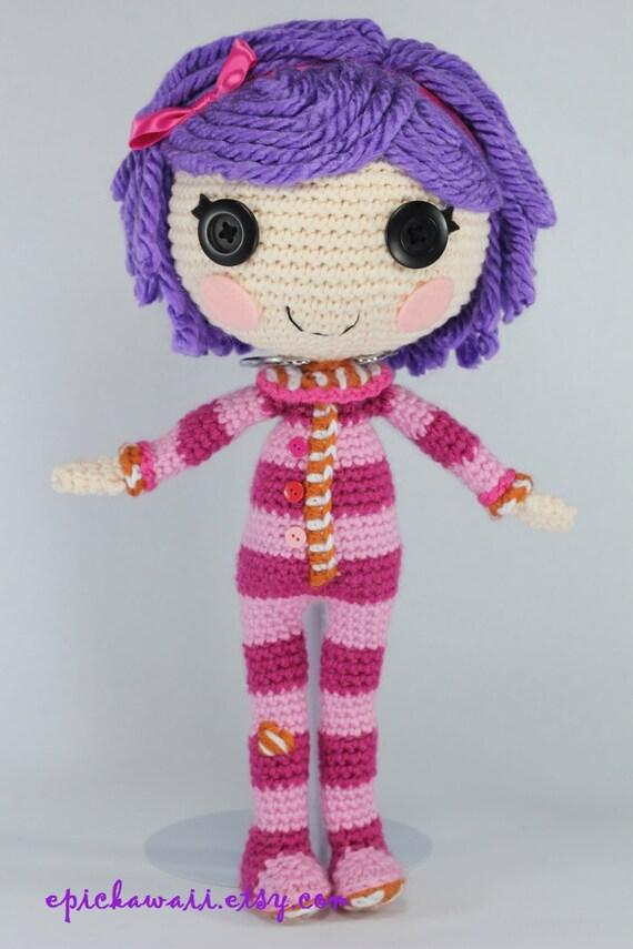 Etsy Amigurumi Patrones : PATTERN: Pillow Crochet Amigurumi Doll