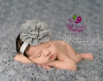 Baby Headbands - You pick 1 Lace Headband - Infant Baby Headband - Baby Girl Headbands - Baby Hair Accessories - Baby Hairbows - Baby Bows