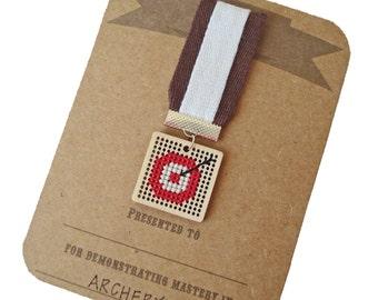 Archery achievement badge