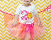 Sunshine Birthday Tutu Outfit-You are My Sunshine Tutu Set-Summer Birthday Tutu Set-Sunshine Birthday Outfit *Bow NOT Included*