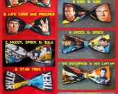 BowTies Made From Star Trek Fabrics - Every Fan Trekker or Trekkie Has Gotta Have One - U.S.SHIPPlNG ALWAYS 1.49 - Live Long and Prosper!