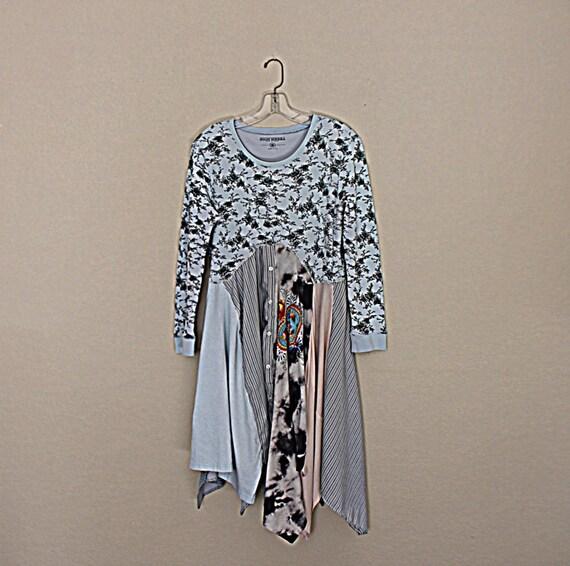 Women's Boho Dress Funky Hippie Clothing By AmadiSloanDesigns