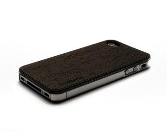 iPhone 4 Case Wood Wenge, Wood iPhone 4S Case Wood iPhone 4 Case, iPhone 4 Wood Case, iPhone 4S Wood Case, iPhone Case