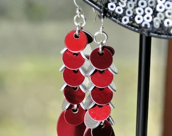Mini Scale Earrings - As Seen at GBK's 2014 Golden Globes Celebrity Gift Lounge