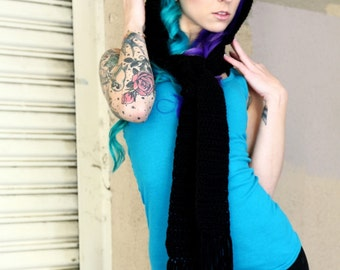 ON SALE Hooded Kitty Scarf