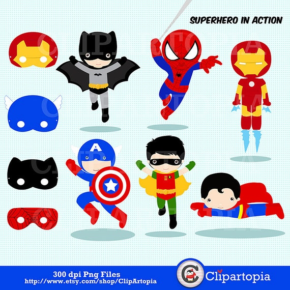 superhero clipart free download - photo #31