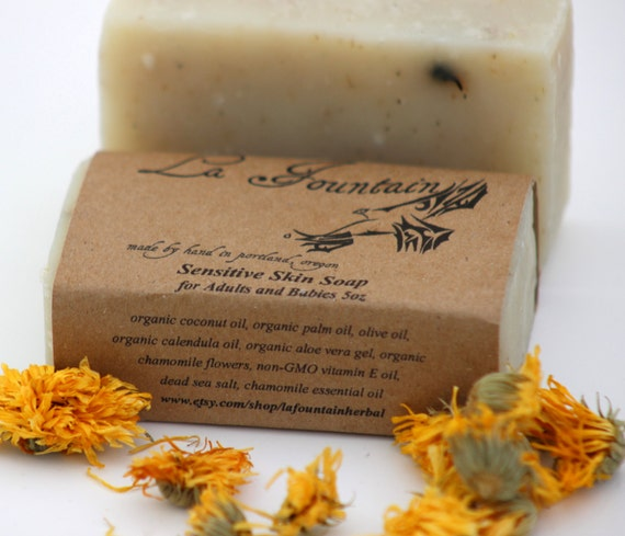 Sensitive Skin Soap - Organic Soap