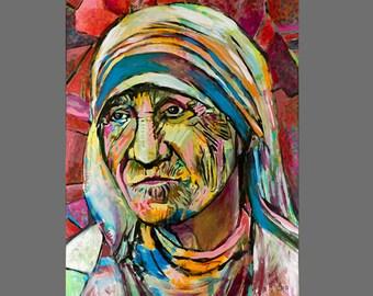 Mother Teresa Print