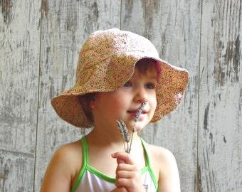Toddler Sun Hat, Girls Summer Hat