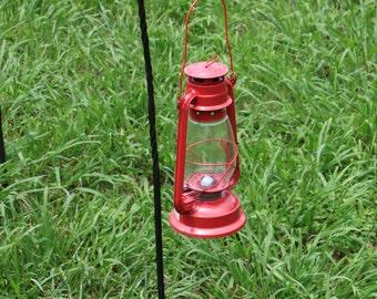Blacksmith Forged Folding Lantern Hanger for Camping or Civil War Re-enacting