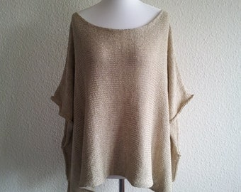 Undershirts - Cape - cotton - linen - nylon - INA beige - jeacara