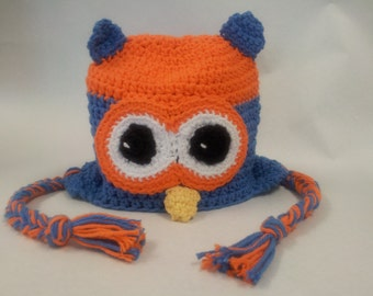 Owl Hat - Choice of Colors! (110)