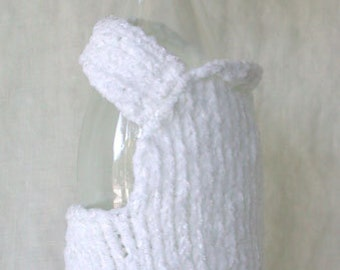 Chef Wine Bottle Cover and Hat (wine bottle bling)